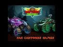 Mad Truck Challenge2! Игровой мультик для детей про ГОНКИ на машинках Монстр Трак