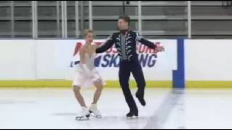 Danielle THOMAS / Daniel EATON SD 2015 U.S. International Figure Skating Classic
