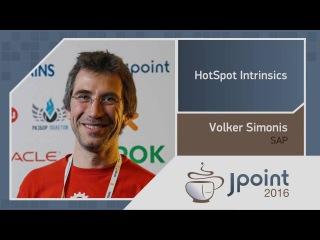 Volker Simonis — HotSpot Intrinsics