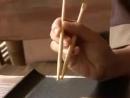 Как правильно держать палочки