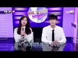 170411 MCs I.O.I's Somi &amp UP10TION's Wooshin @ The Show