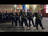 Парадный расчет Уральского института ГПС МЧС России