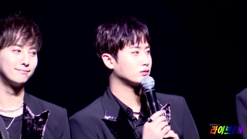 [Live영상] 김규종, SS501 활동 항상 바라고 있어. 언젠가 김현중과 함께 할 것 (SS301 쇼케이스)