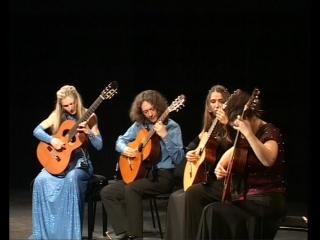 4-tissimo Guitar Quartet. {19-02-10 ТКЗ Дворец на Яузе}. испанское попурри