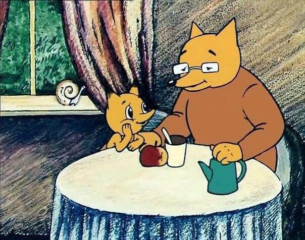 - Как хорошо, что ты пришел, сынок! — обрадовался Старый Лис. — Я испе
