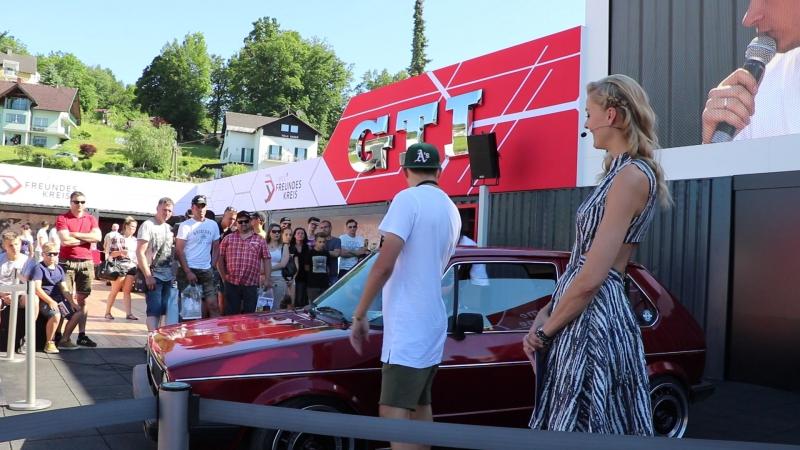 Гольф 1 ГТИ из России на GTI Treffen Worthersee 2017 - Рейфнитз, Австрия - 2