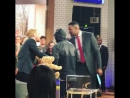 Донал Глисон, Марго Робби, Уилл Тилстон прибывают на 'Good Morning America'
