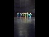 Танцы за сценой))) мюзик-холл