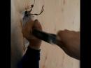 23.05.2017г. Железнодорожный район. Двести сорок первый день поквартирной работы МАШИНЫ ДОБРЫХ ДЕЛ. Установка розетки и выключат