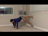 Простая и  эффективная тренировка для ног