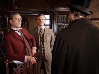 Приключения Шерлока Холмса и доктора Ватсона. (1981. Собака Баскервилей. Серия 1).