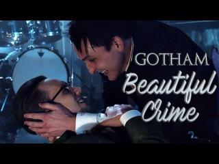 Gotham    Beautiful Crime    Edward Nygma Oswald Cobblepot