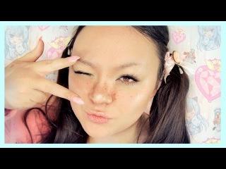 My EVERYDAY MAKEUP Routine ʕ·ᴥ·ʔ♡ ~ ASMR Makeup Tutorial for Relaxation [Soft Spoken]