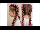 ТРЕНД 2017 Простое плетение кос с канекалоном Color braids