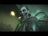 Injustice 2 - Рейдан и Джокер | Диалоги перед боем, в столкновениях и по ульте