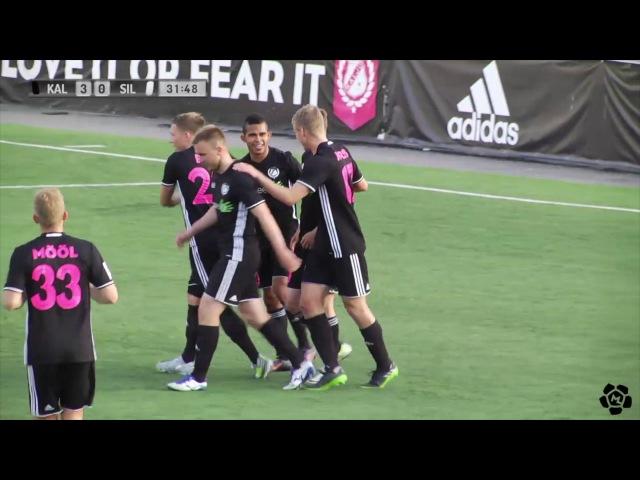 16. voor 2017: Nõmme Kalju FC - JK Sillamäe Kalev 8:0 (5:0)