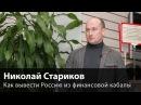 Николай Стариков: Как вывести Россию из финансовой кабалы