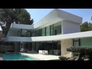 Вилла класса люкс в городе Altea Испания. Новые Хай-Тек дома на попережье для прода ...