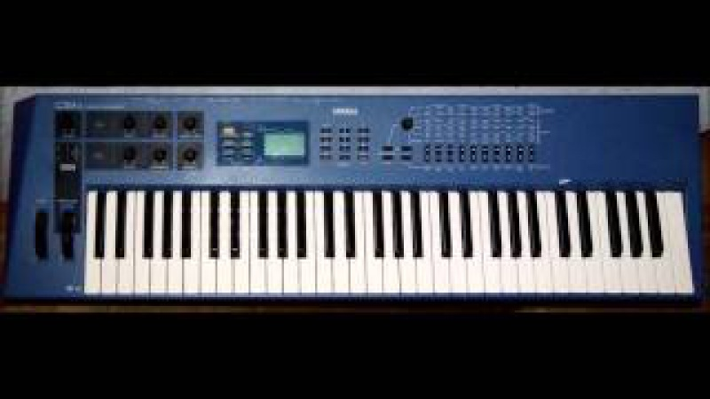 Nonstop Through the Galaxy Yamaha CS1x Analog Emulation Synth