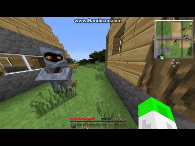 Minecraft начинаем виживать в одиночке