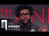 Questlove Presents De La Soul with Artist of The Year at the 18th Annual Webby Awards