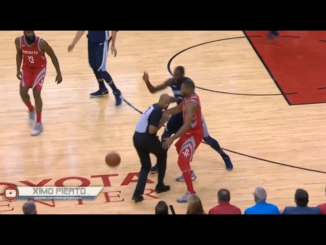 NBA IS RIGGED? Ref Gets In The Way Of James Harden's pass