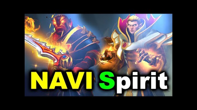 NAVI vs SPIRIT - CIS Loser Bracket - Dota PIT Minor DOTA 2