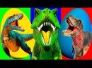 Мультики. Киндер сюрприз. Учим цвета про Динозавров Learn Colors With Surprise Eggs for Kids