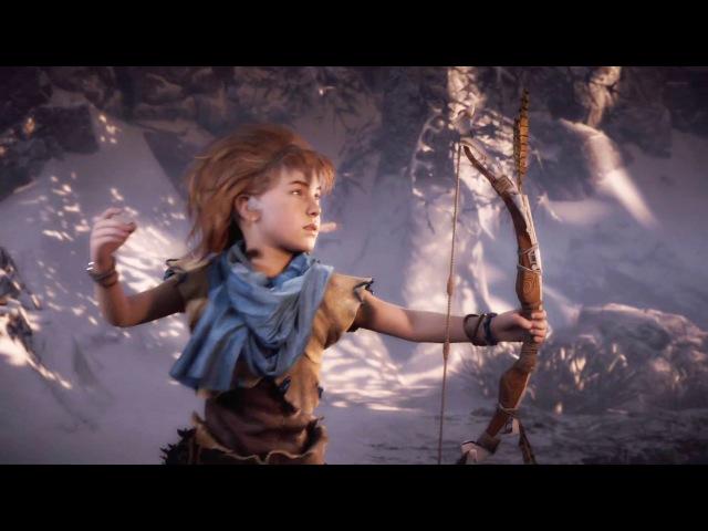 Trailer Aloy Становление Элой в игре Horizon Zero Dawn