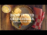 How to Make Bacon-Infused Cheeseburgers with Market Fresh Salsa