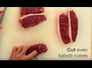 Butcher Backstory: Top Sirloin Kabob Cubes
