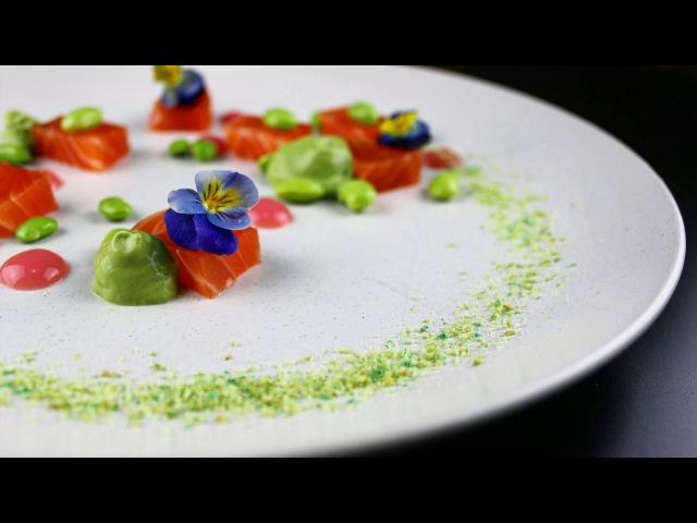 Plating techniques 8 - How to plate food like a michelin chef. How michelin chefs plate food.