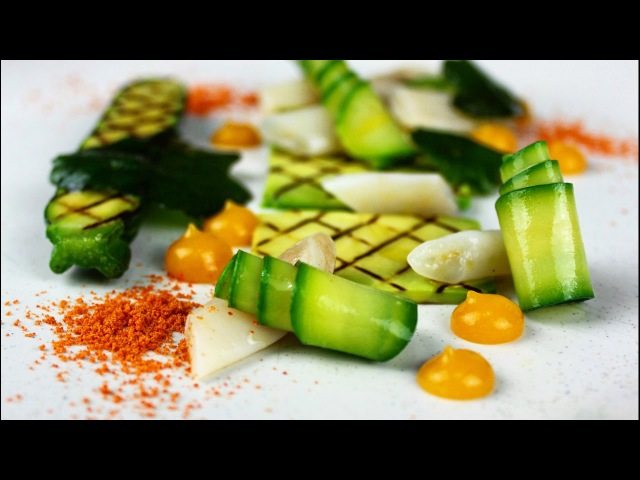 Plating Food | Razor Clams |