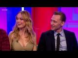 The One Show - Tom Hiddleston, Brie Larson, Samuel L Jackson - About Marvel