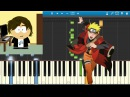How To Play Naruto Shippuden Opening 6 [Piano Tutorial] - Sign Flow \w Midi