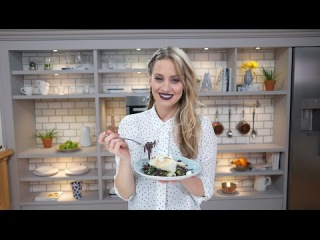 Kimberly Wyatt | Miso Steamed Cod with Black Noodle Salad | Be Tasty