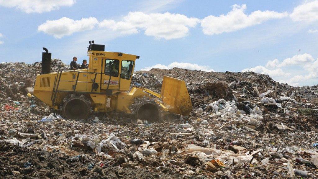 В Таганроге проект рекультивации мусорного полигона должен быть готов к весне 2018 года