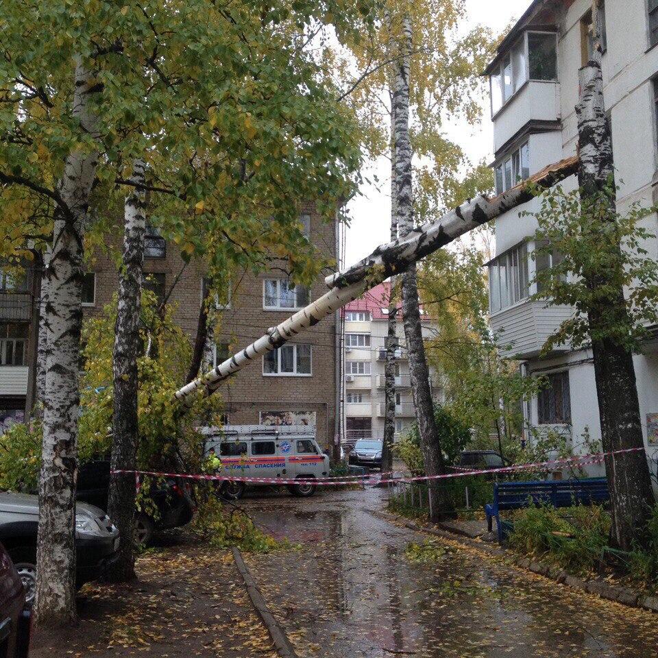 ураган, Чайковский, 2017 год