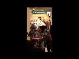 Рианна прибывает на Fenty x Puma Pep Rally (13.10.2017)