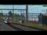 Электровоз ВЛ80к-724 со сдвоенным составом до Балезино. Trainz 12.