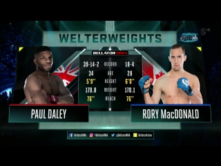 Rory macdonald vs. paul daley | [ vk.com/best_of_mma ]