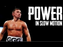 Gennady Golovkins Power in Slow Motion