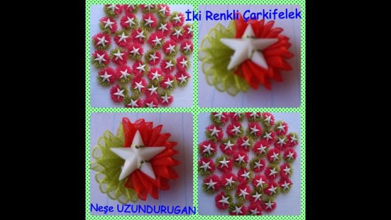 Organze Kurdele oyaları304Kİ RENKLİ ÇARKIFELEK OYASIForex summer flower,health flower,holiday flower