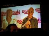 Jeffrey DeMunn - Dale - and Laurie Holden - Andrea @ Walker