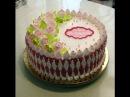 Идея оформления кремового тортика