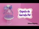 Cúpula Feita com Garrafa Pet Mini suporte 💕
