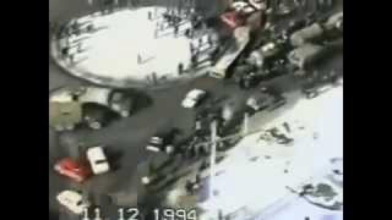 Российские каратели на пути в Чечню. Ингушетия. 1994 год.