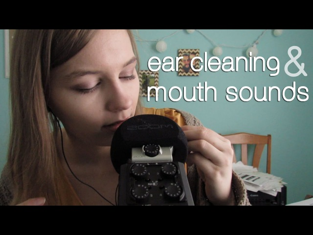 ASMR Ear Cleaning Mouth Sounds! Intense!