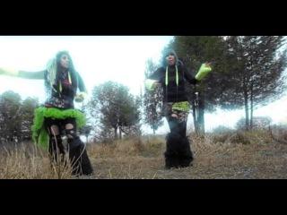Sleetgrout - Trick Or Treat (CYBERIA) Industrial Dance (Emily Zombie Biogirl)