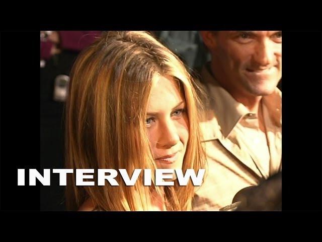 Rock Star Red Carpet Premiere: Jennifer Aniston Interview (09/07/2001)